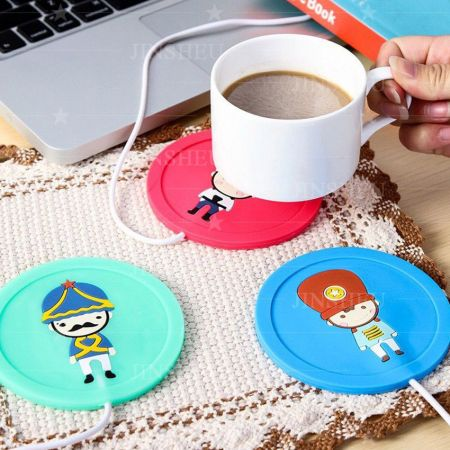 USB Insulation Rubber Coasters