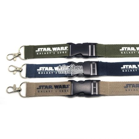 Eco Friendly Cotton Lanyards - Eco Friendly Cotton Lanyards