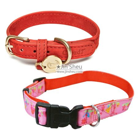 Custom Dog Collars - Custom Leather Dog Collars