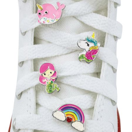Shoelace Charms - Custom Soft Enamel Shoelace Charms