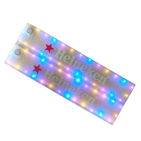 personalized LED beer bar mats
