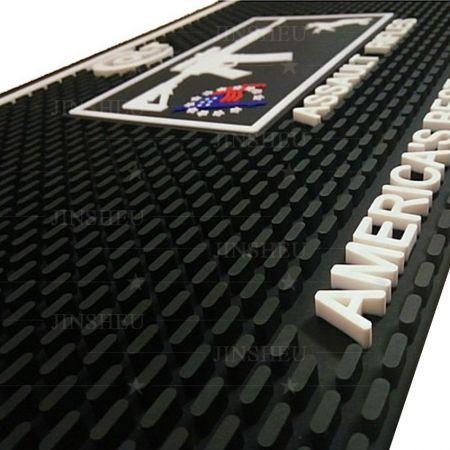 custom pvc rubber bar mat factory
