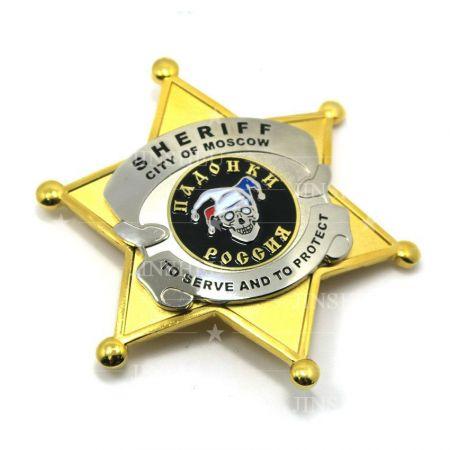 Moscow Sheriff Badges - Moscow Sheriff Badges