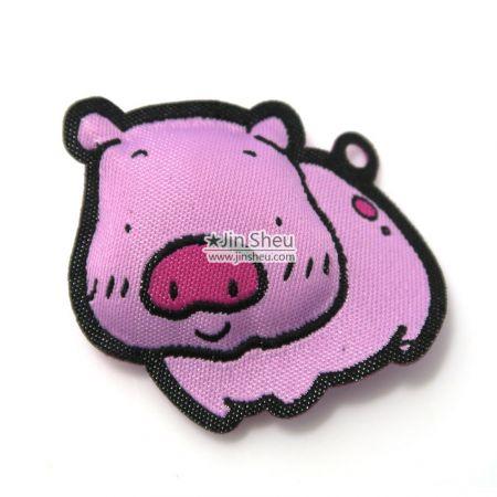 Pig Fabric Padded Charm - Pig Fabric Padded Charm