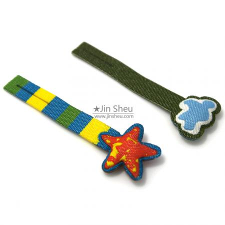 Padded Label Tag Zip Pull - Padded Label Tag Zip Pull