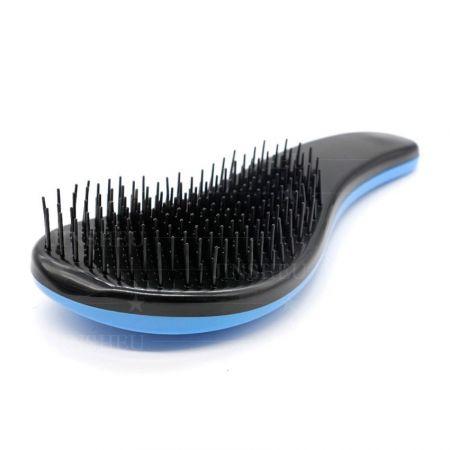 custom logo wet dry hair comb brush