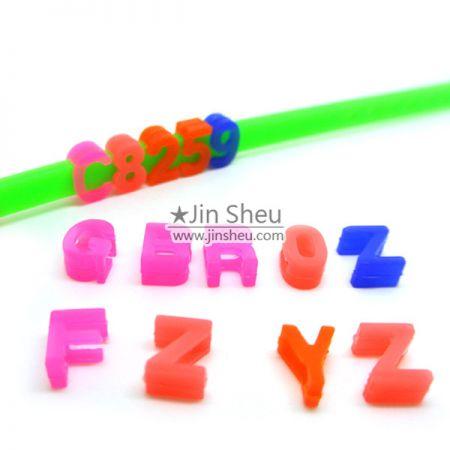 Free Style DIY Rubber Message Bracelets - Free Style DIY Message Bracelets