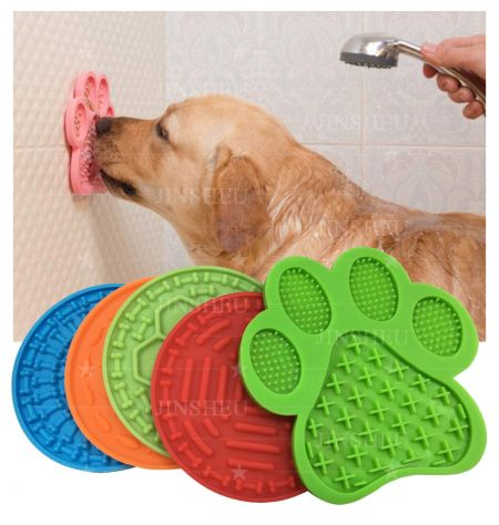 Silicone Dog Slow Feed Lick Pads - Silicone Dog Slow Feed Lick Pads