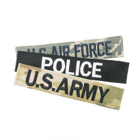 Embroidered Military Name Tags - Embroidered Military Name Tags