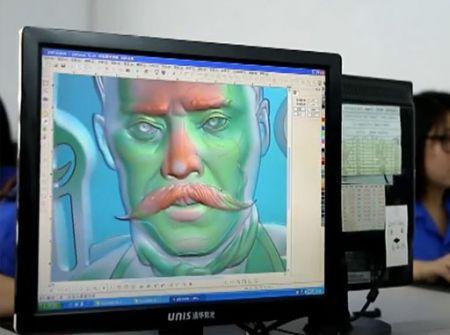 3D Artwork Department - 3D Artworks Preparing for metal challenge coins and military medals etc.