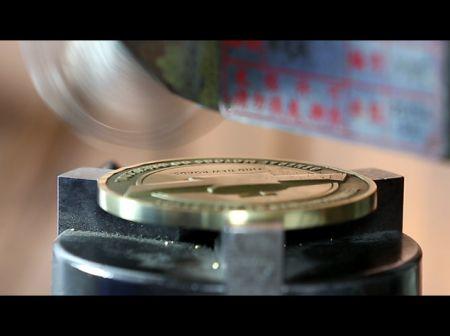 Diamond Cut Edges - Diamond Cutting for Military Coins