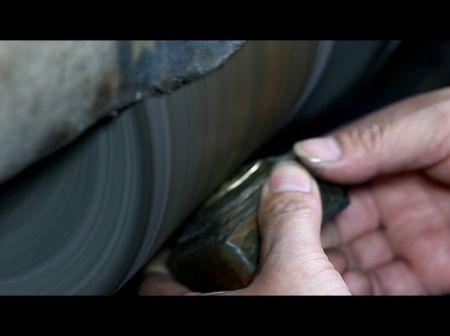 Color Polishing and Shiny Polishing - Hand Polishing Machine