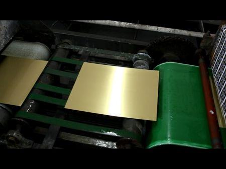 Metal Plates Brush Before Printing - Metal Plates Brush Before Printing