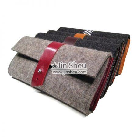 Soft Felt Wallet - Soft Felt Wallet