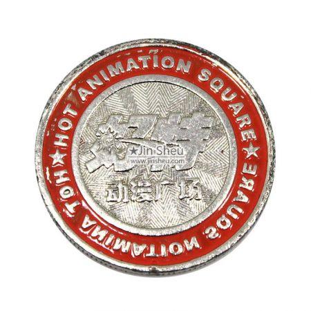 metal casino slot machine coins