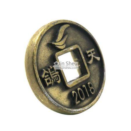 zinc alloy game coins