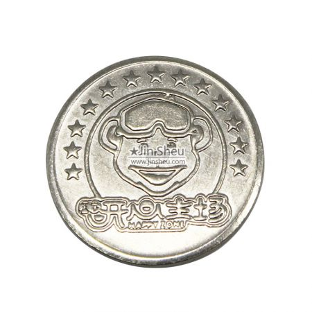personalized slot machine tokens