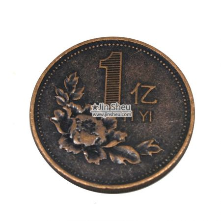 antique plated game coin manufacturer