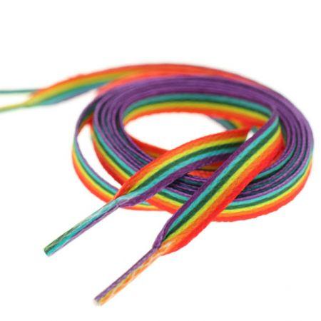 Gay Pride LGBT Rainbow Shoelaces - Gay Pride LGBT Rainbow Shoelaces