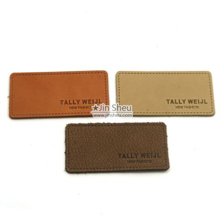 Real Leather Labels for Jeans - Real Leather Labels for Jeans