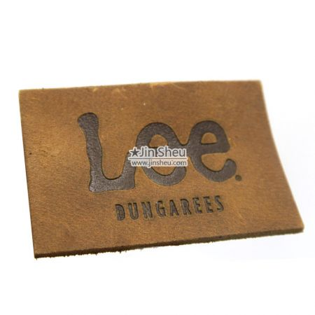 Jeans Genuine Leather Label - Jeans Genuine Leather Label