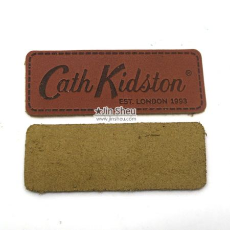 Personalize Leather Patch for Caps - Personalize Leather Patch for Caps