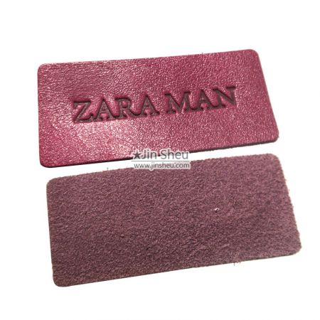 Custom Leather Label for Clothing - Custom Leather Label for Clothing