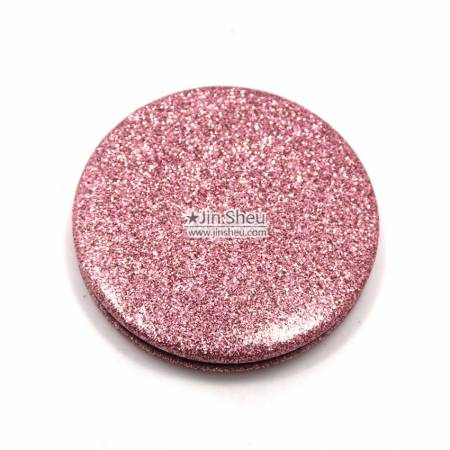 Foldable Glitter Makeup Pocket Mirror - Foldable Glitter Makeup Pocket Mirror