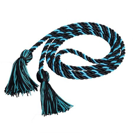 Multi-colored Twisted Honor Cords - Multi-colored Honor Cord