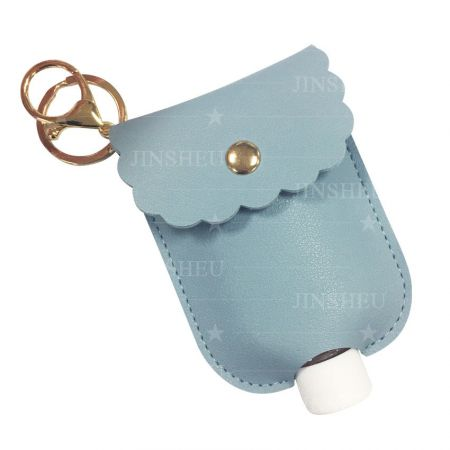 wholesale leather hand sanitizer holder