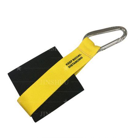 carabiner hand sanitizer holder keychain