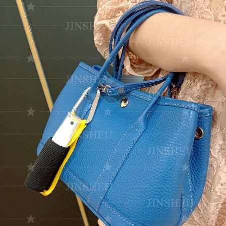 custom disinfectant alcohol spray carabiner short strap