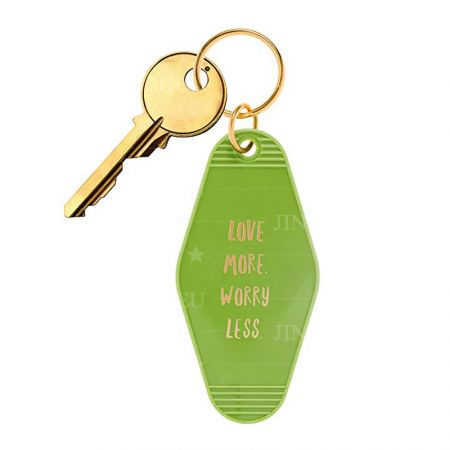 custom printed plastic hotel key tags