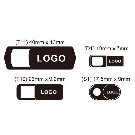 Custom Webcam Cover with Logo - Custom Webcam Cover with Logo