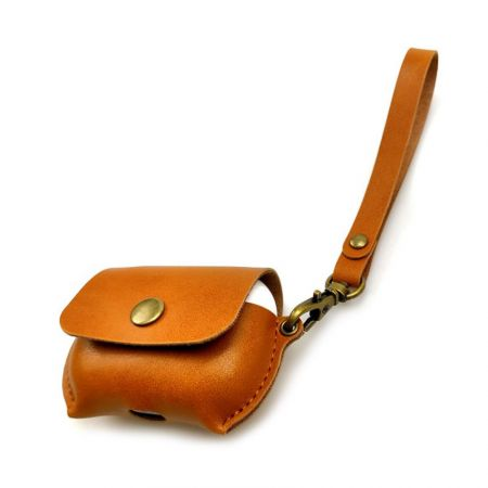 wholesale PU leather airpod covers