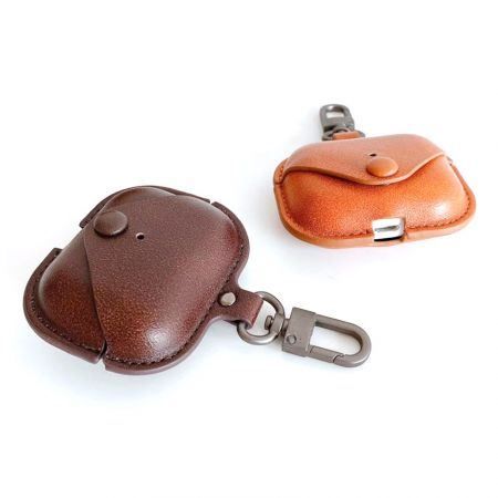 PU leather earphone cover cases supplier