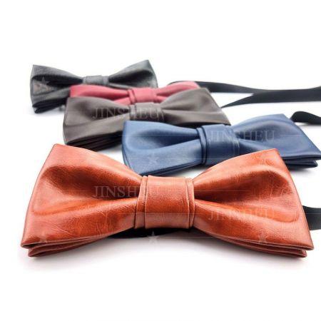 Custom Leather Bow Ties - Custom Leather Bow Ties