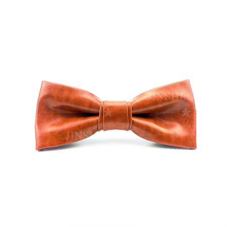leather bow tie supplier