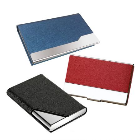 PU Leather Business Card Cases - PU Leather Business Card Holder