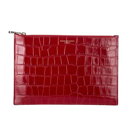 wholesale leather zipper clutch bags