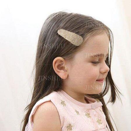 custom made leather hair clips