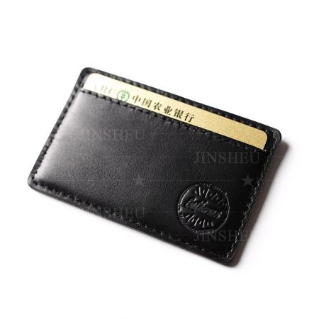 personalized genuine leather name card holders