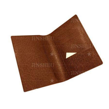 custom PU leather passport id covers
