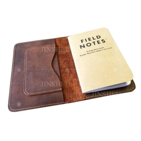 personalized genuine leather passport cover holder