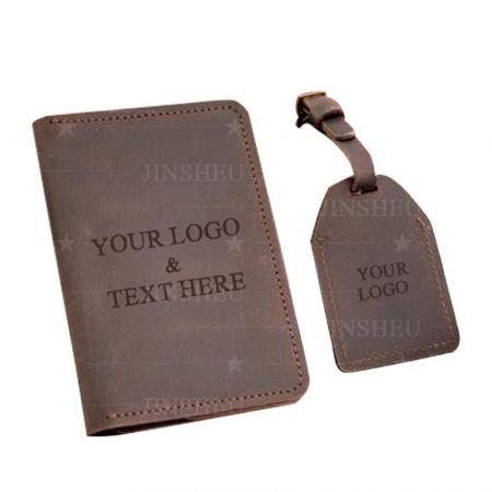 wholesale custom travel passport holder and luggage tag
