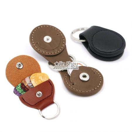 Keepsake Token & Guitar Pick Holders - Keepsake Token & Guitar Pick Holder Keyrings
