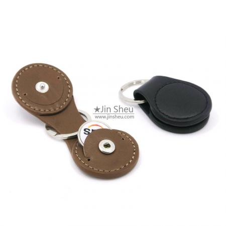 Leather Token Coin Key Holders - Leather Token Coin Key Holders