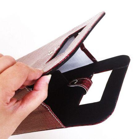 wholesale leather wine sleeve tote bag