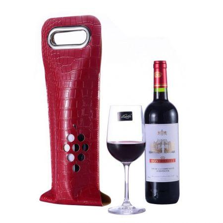 custom made single wine bottle sleeves