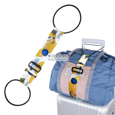 Luggage Straps - Suitcase Adjustable Belt & Jacket Gripper